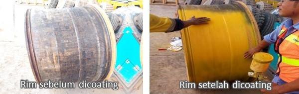 coating rim cat untuk rim hd truck