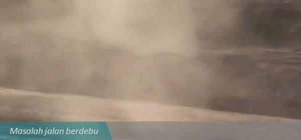 dust suppressant dustblock 910 jalan berdebu
