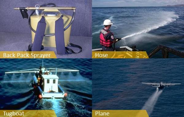 aplikasi OSD chemicals dispersant