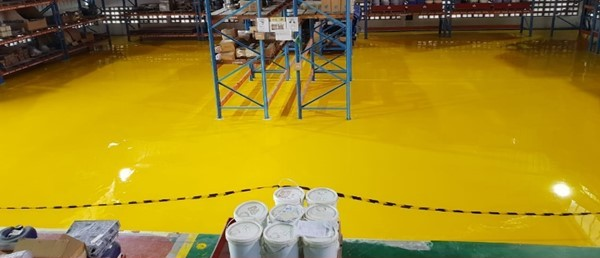 coating lantai epoxy