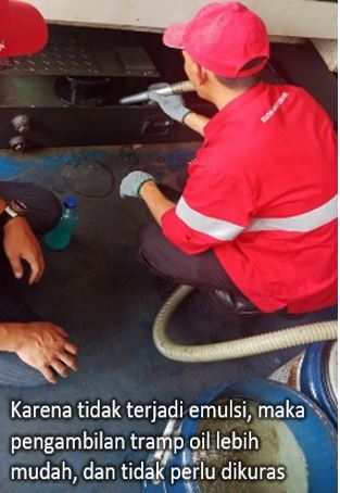 mengatasi tramp oil problem