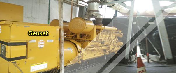 cairan pembersih radiator genset industri