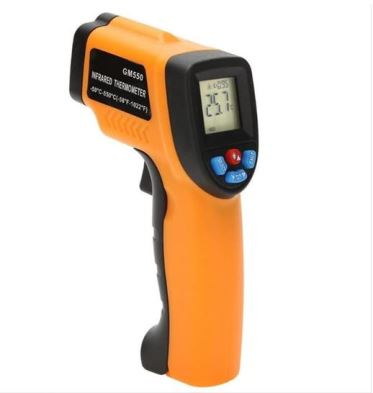 thermometer gun peralatan inspeksi coating