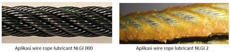 aplikasi wirerope lubricant