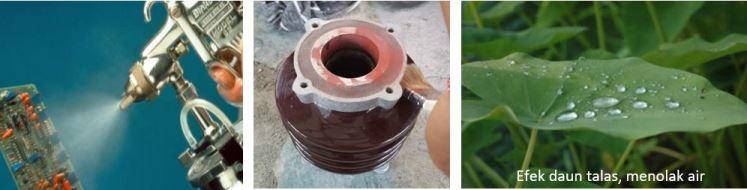 t8 coating untuk isolator listrik