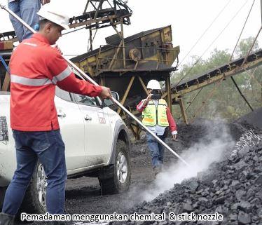 penanganan coal self heating
