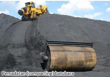 pemadatan batubara antisipasi coal self heating