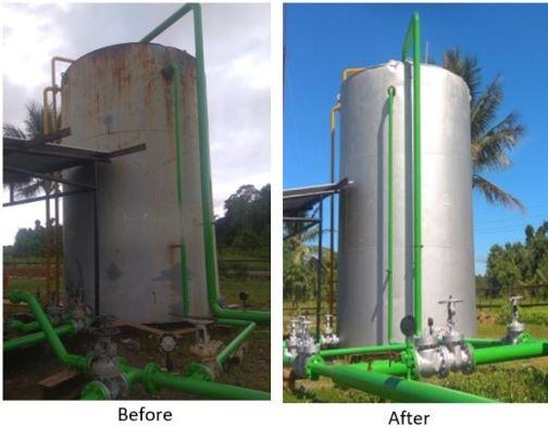 cara pencegahan korosi tangki minyak dan gas
